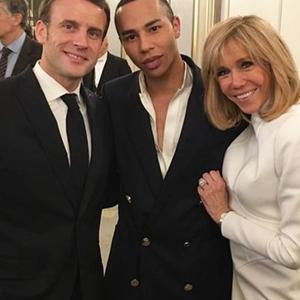 Emmanuel Macron Madame Figaro