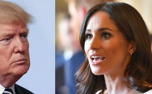Meghan Markle et Donald Trump, une rencontre sous haute tension