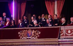 À Londres, la famille royale célèbre le centenaire de l'armistice de son côté
