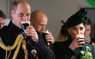 Les photos de William et Kate -toute de vert vêtue- qui célèbrent la Saint-Patrick