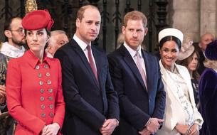 Les princes William et Harry annoncent la séparation de leurs maisons royales
