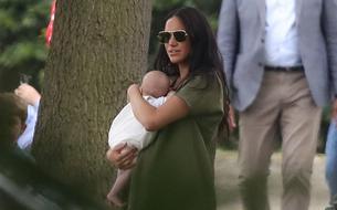 En photos, l'apparition surprise de Meghan et Archie lors d'un match de polo