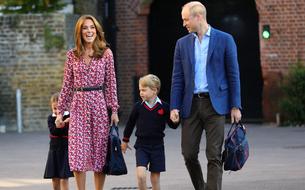 En vidéo, la princesse Charlotte fait une timide rentrée des classes
