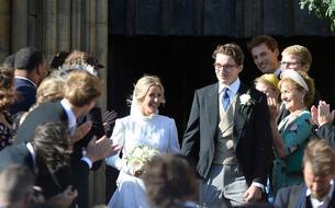 Le mariage presque princier d'Ellie Goulding en images