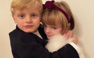 Les jumeaux d'Albert et Charlene de Monaco s'affichent complices sur Instagram
