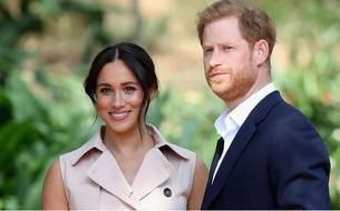 Meghan Markle et le prince Harry font la une (pétrifiée) du