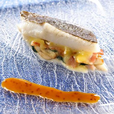 Filet de turbot au camembert