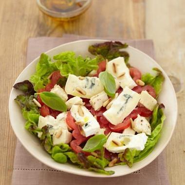 Salade Bressane au bleu