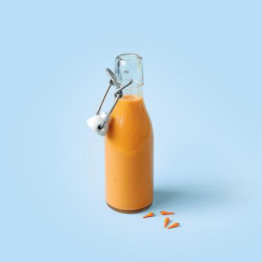 Vinaigrette à la carotte