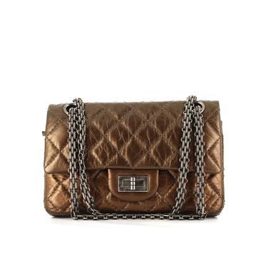 5615e35b21 Photo presse Collector Square Les multiples visages du sac à main 2.55 de  Chanel