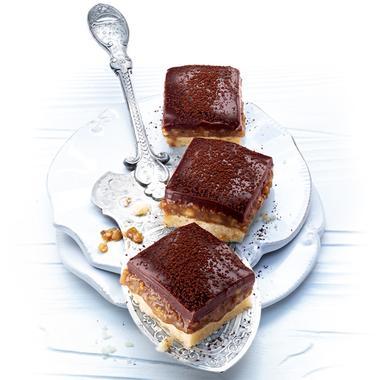 Shortbread praliné aux noix
