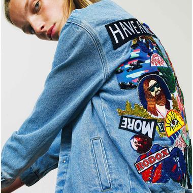 luxe bonne vente découvrir les dernières tendances Les vestes à messages brodés tournent le dos à la tendance ...