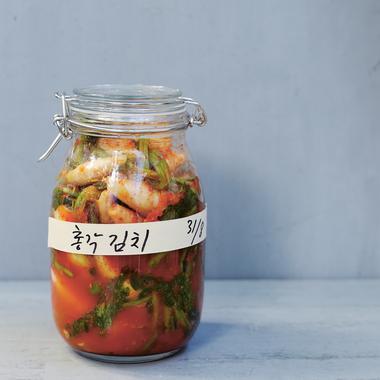 Chonggak kimchi aux radis blancs