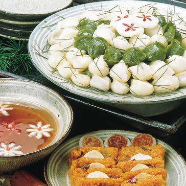 Gâteaux de riz au parfum de pin Song p'yon