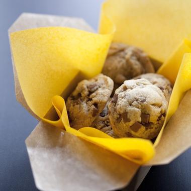Cookies au beurre cacahuètes et pépites de chocolat