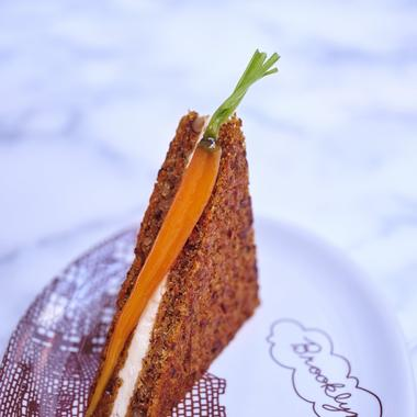 Carrot cake revisité