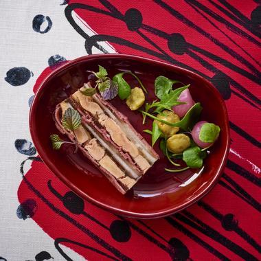 Pressé de foie gras