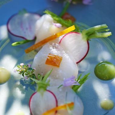 Daurade royale marinée aux agrumes