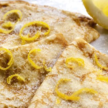 Crêpes au citron comme en Italie