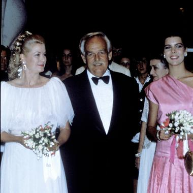 b207ca3639 Photo Getty Images Bal de la rose : plus de 60 ans de looks à Monaco - 1980