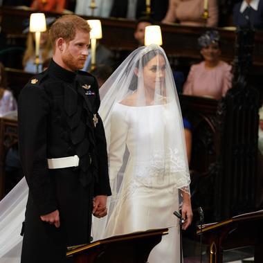 2eme robe mariage meghan
