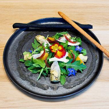 Salade d'artichauts à l'orientale