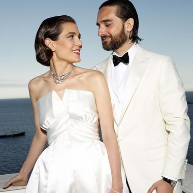 Charlotte Casiraghi et Dimitri Rassam, l'album photo