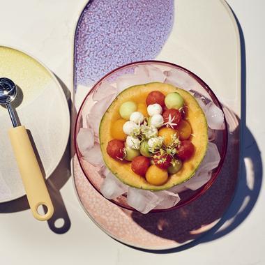 Fresh bowl, pastèque et melon