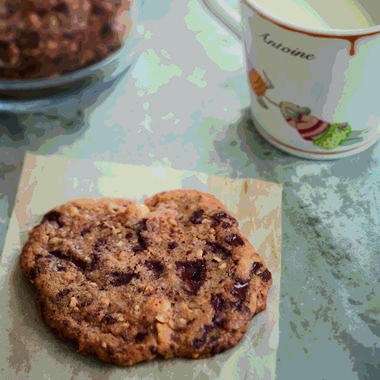 Cookies aux noisettes pour mon fils