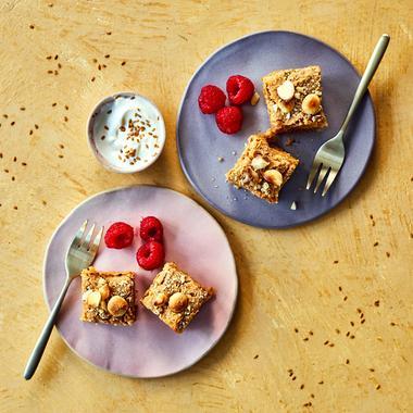 Gâteaux fondants à la vanille et aux haricots blancs