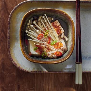 Ragoût de tofu épicé