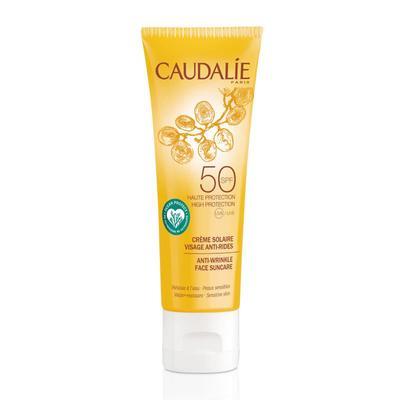 Crème Solaire Visage SPF 50 de Caudalie : l'éco tan