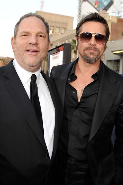 Brad Pitt revient sur sa tentative d'intimidation de Harvey Weinstein en 1994