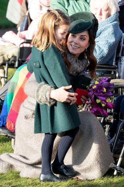 Kate Middleton dévoile une nouvelle photo de la princesse Charlotte