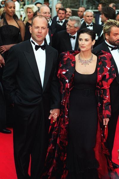 En photo : Bruce Willis et Demi Moore sont confinés ensemble, et en pyjama
