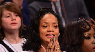 Rihanna, grande supportrice des Bleus