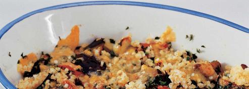 Cocotte de légumes et boulghour