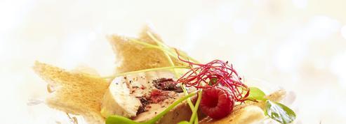 Foie gras vapeur aux fruits rouges