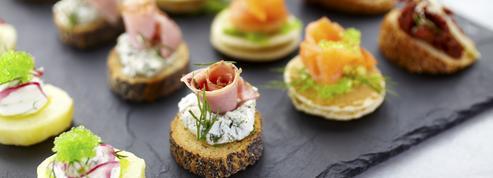 Bouchées apéritives, petits fours et canapés : nos meilleures recettes pour un apéritif de fête