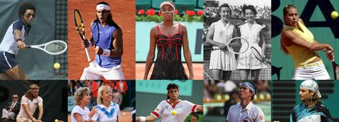b967d00c2c De René Lacoste à Serena Williams, les champions du style à Roland-Garros