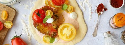 Pizza tomates