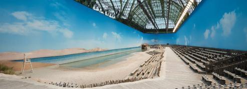 Chanel-sur-Mer : Karl Lagerfeld installe une vraie plage au Grand Palais
