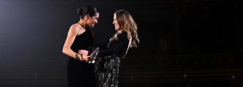 Meghan Markle, radieuse et émue sur la scène des British Fashion Awards 2018