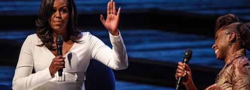 Foule immense, délire total : dans les coulisses de la conférence de Michelle Obama à Londres