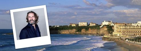 Biarritz dans les pas de Frédéric Beigbeder