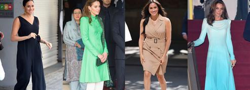 Kate Middleton et Meghan Markle : deux duchesses, deux voyages, deux styles