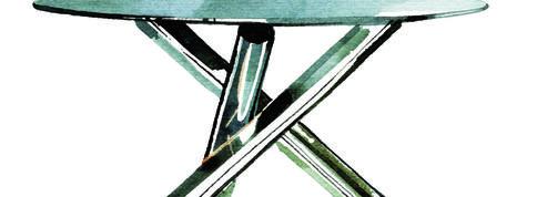 Pièce iconique du design italien, retour sur la table Van Dyck en 6 chiffres clés