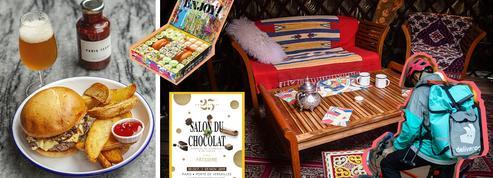 Le Salon du Chocolat, une yourte à Paris et un ch'ti burger… Quoi de neuf en cuisine ?