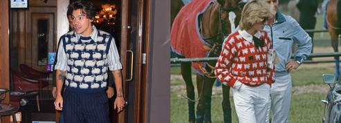 Harry Styles, Lady Diana et le pull imprimé moutons