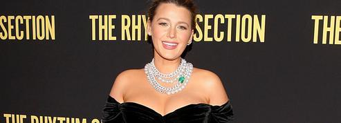 Blake Lively, diva glamour pour sa première apparition post-accouchement